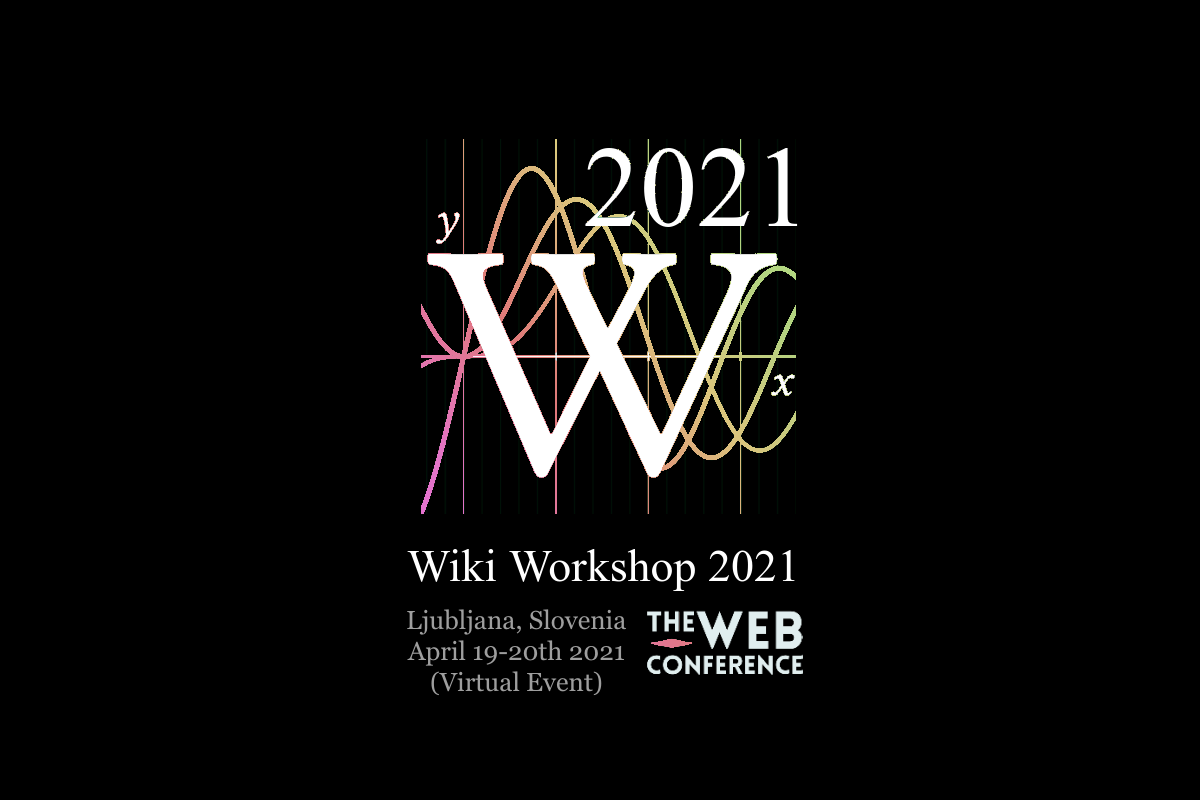 banner of Wiki Workshop 2018, hosted at the Web Conference 2018 in Lyon, France